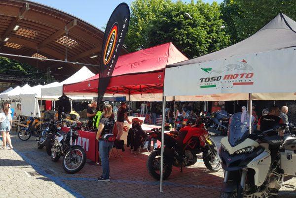 Elledue partecipa al Laghee Biker Fest di Mandello come partner tecnico del Test Ride Ducati di Toso Moto